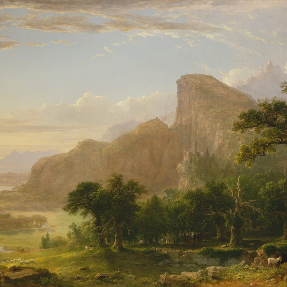 Thanatopsis - Asher Brown Durand